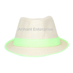 Casual Self Design Fedora Hat