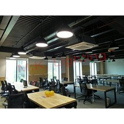 Led Iron Office Hanging Pendant Light