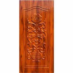 GPD 4F Carved Wooden Door