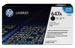 HP CE260A 647A Black Toner Cartridge
