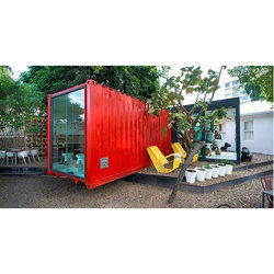 20 Feet Coffee Shop Container