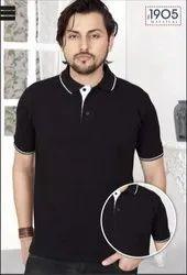 Mafatlal  Premium T-shirt (BLACK WHITE)