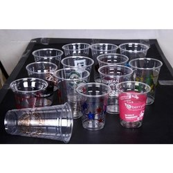 Disposable Pet Glass, Packaging Type: Box