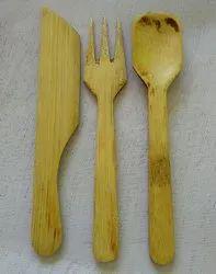 3 Polished Cutlery Set