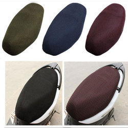 Leather And Net Scooty Seat Cover