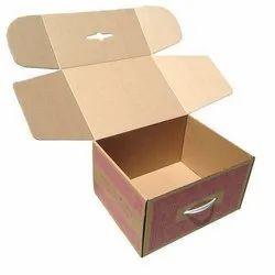 Kraft Paper Die Cut Corrugated Box