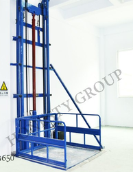 Heavy Duty Mild Steel Hydraulic Goods Lift