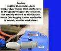 Sanitizing Machine Cold ULV Electrostatic Fogger Does Not Heat & Damage Chemical