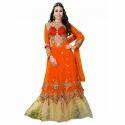 Cotton Full Sleeve Anarkali Suit