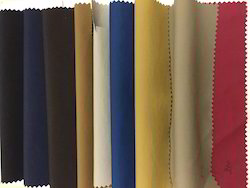 Brown, Red Plain NS Fabric