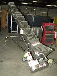 Screw Conveyor With Dump Yard
