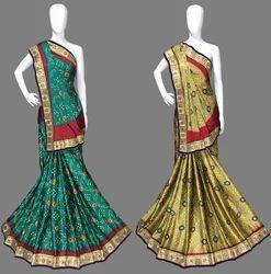 Wedding Wear Gajji Silk Saree