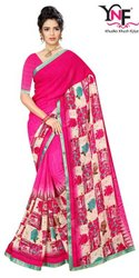 Super Look Vol 2 Weightless Border Printed Saree