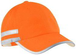 High Visibility Reflective Safety Cap With 3M Scotchlite Tape
