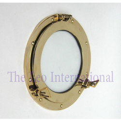 TLI Polish Nautical Brass Porthole