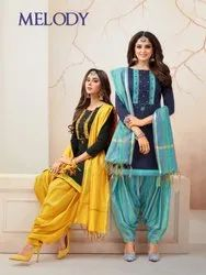 Shagun Lifestyle Melody 1001-1012 Series Indian Patiyala Dress Trader