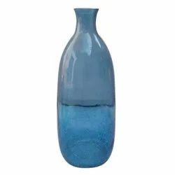 Fancy Bottle Glass Vase