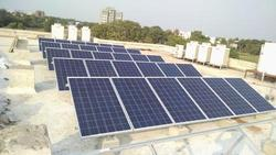 Elevated Solar PV Panel Mounting Structure