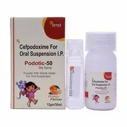 Podotic 50 Dry Syrup