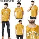 Men Half Sleeve Printed T-Shirt