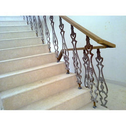 Cast Iron Staircase Hand Railing