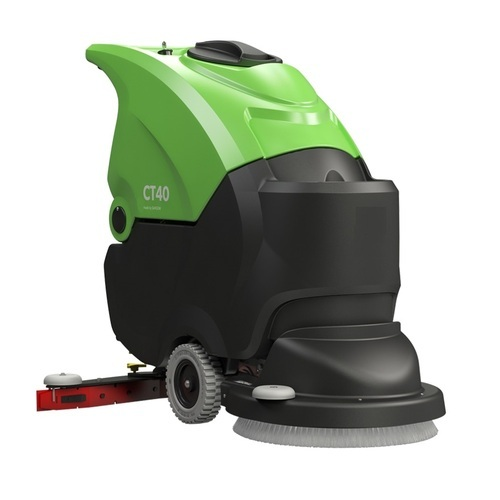 Makage Plastic Semi-Automatic Scrubber Drier, Model Name/Number: Ct40
