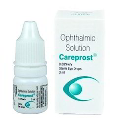 Cipla Careprost Eye Drop, Packaging Type: Bottle, Packaging Size: 3 Ml
