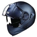 Black Fiberglass Studds Ninja Elite Helmet, Packaging Type: Box, Size: L