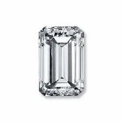 Emerald Shape Solitaire Diamond