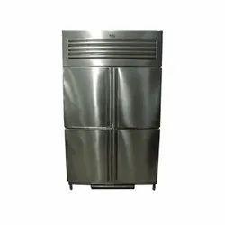 200L Four Door Vertical Deep Freezer, 4, Temperature Range: -18 Degree To -24 Degree C