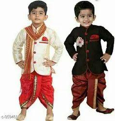 Boy Sherwani Kids Wear, Age: 1/11 Year
