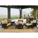 Wicker Sectional Sofa Set