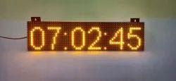 Globallianz LED Digital Clock, Size: 6 x 24 inch