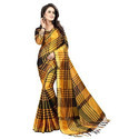Nylon Indian Casual Wear Sarees With Blouse Piece, Saree Length: 5.5 M