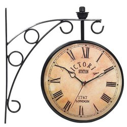 Brass Wall Mounted Antique Wall Clock