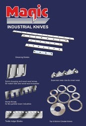 Circular Top And Bottom Knives, For Industrial
