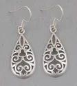 925 Sterling Silver Plain Earring