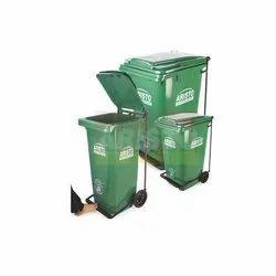 Plastic Pedal Type Waste Bin