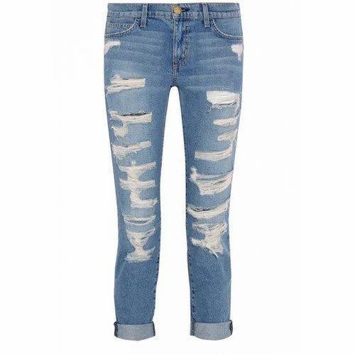 a5e1814dae833 Rugged Denim Designer Ladies Jeans