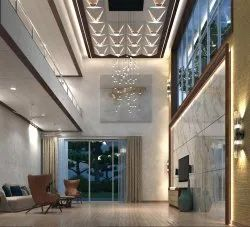 Residential Interior Designing Services, Table Top Thickness: 15-20 mm