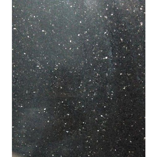 Galaxy Black Granite Marble, For Countertops, Thickness: 10-15 Mm
