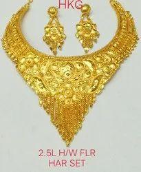 Wedding Flower Design Fashion Necklace