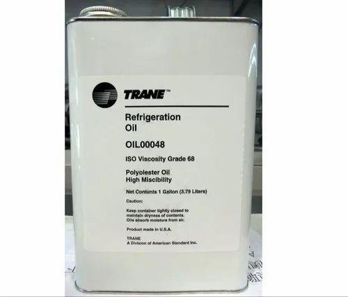 Rotary screw Ingersoll Rand (IR) Trane Chiller Compressor Oil, For Hvac, Packaging Type: Barrel