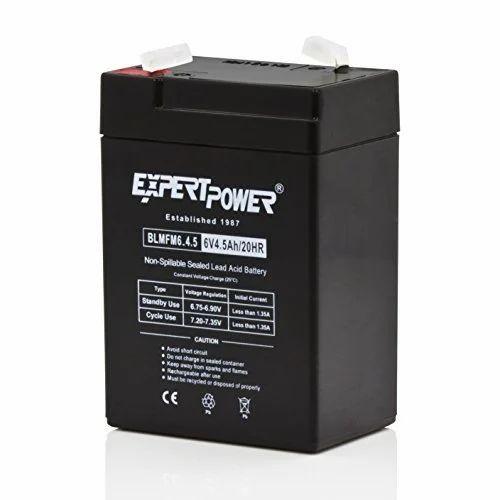Toy Car Battery 6 Volt 4 5 Amp Battery ख ल न क ब टर