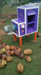 ARS Coconut Dehusking Machine