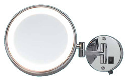 One Side LED Shaving Magnifying Mirror