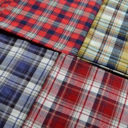 Check Cotton Shirt Fabric