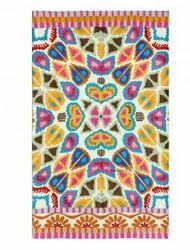 Mystical Handmade Patterned Rug