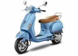 Blue Vespa VXL 125 Scooter