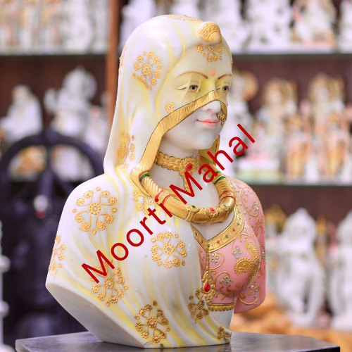 Lady Figurine Marble Statue for Interior Decoration